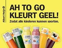 Albert Heijn to go - Wij kleuren geel!