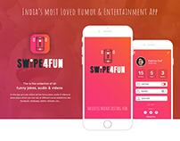 Swipe4Fun Mobile App UX/UI