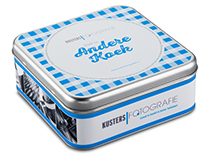 Biscuit tin for Kusters Fotografie