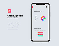 Crédit Agricole - Bank App Redesign