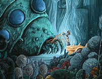 NausicaA - Valley of the Wind Poster