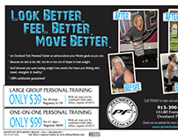 Direct Mailing Ad - Plunkett Fitness