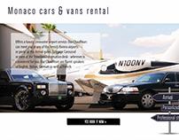 Monaco Limousine rental Web Design
