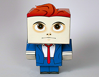 Gerard Way Paper Figure