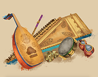 Arabic music instruments
