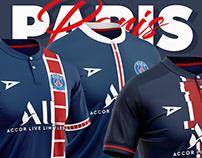7 Football kits - Paris Saint-Germain