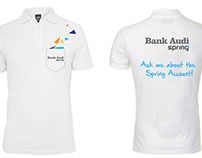 Bank Audi - Spring Account Ambassadors T-Shirt