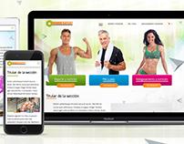 Genestore - Website