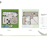 Floor plan rendering Isla Baleares (Spain)