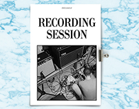 RECORDING SESSION - Photo Diary