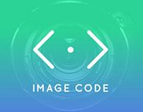 Imagecode logo and identity