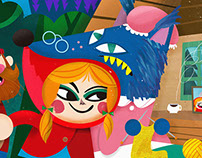 Caperucita Roja By Kiki Viale