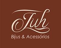 Criação de LogoTipo Juh Bijus e Acessórios