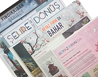 Editorial Design for Beyaz Fırın