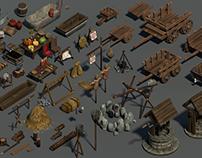Medieval 3D Assets