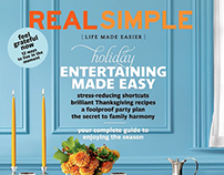 Animation: Real Simple magazine