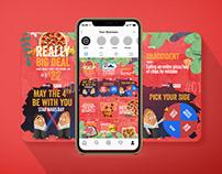 Apache Pizza Instagram Puzzle Grid