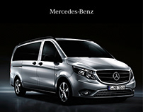 Mercedes-Benz Vans - Editorial Design