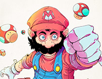 Mario Bros - Fan Art