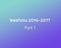 Webfolio 2016-2017 - Part 1