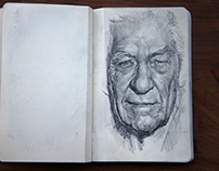 Sketchbook - August 16 - January 17
