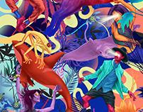 """""""De Ark"""" Book cover Illustration"""