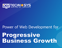 Power of Web Development for Progressive BusinessGrowth