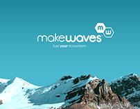 makewaves Branding Concept