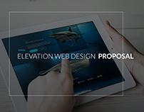 Web Design Proposal for ELEVATION W.S.