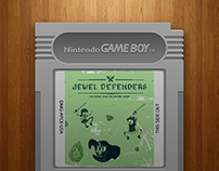 """Jewel Defenders"" Game Art"