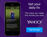 Yahoo App Digital Display Advertising