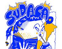 Sudaca / fanzine cover