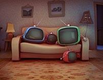 3D TV commercial of a newspaper Gazeta.pl