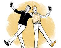 New York Times Guinness Quiz Illustrations