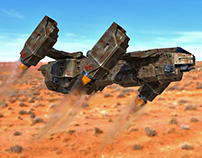 Dropship on the run