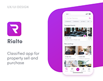 Rialto- mobile app to buy and sell real estate