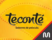 Teconté «Sabores de Película» // Web Site
