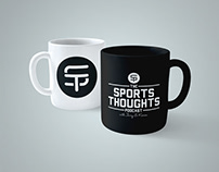 Sports Thoughts Coffee Mug Design Concept