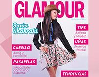 Portada de Revista GLAMOUR-Moda Naif