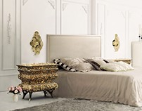 Bedrooms Ideas: Sophisticated Nightstands & Side Tables