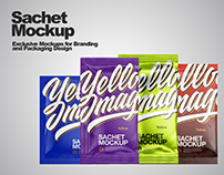 Sachet Mockup PSD