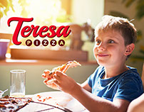 Teresa Pizza Brand & Packaging Refresh
