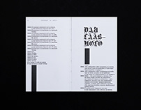KISLOROD book design