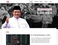 Personal Website for Pak Ahmad Heryawan