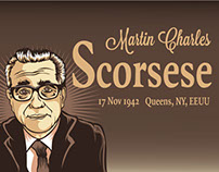 Infographic Martin Scorsese.