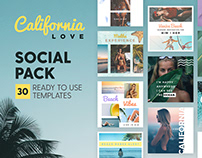 California Love - 4x4 Social Pack