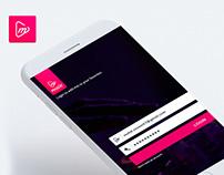 Music app concept UI