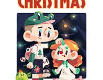 插画 | 圣诞节 | Merry Christmas