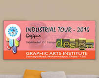 Industrial Tour-2016 Bannar Design