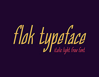Flok Typeface - Free Font Personal & Commercial
